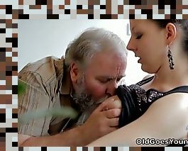 old man fingering teen